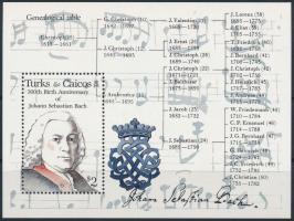 1985 Johann Sebastian Bach blokk, Johann Sebastian Bach block Mi 61