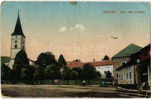 Svedlér, Svedlár; Római katolikus templom / Catholic church (lyuk / hole)