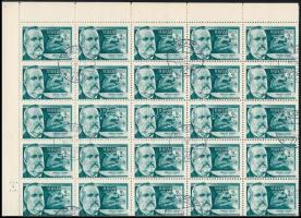 1954 Tudósok 2Ft hajtott teljes ív (20.000)