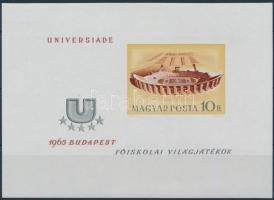 1965 Universiade vágott blokk (4.000)