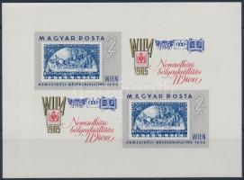 1965 WIPA vágott kisív (4.500)