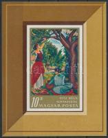 1967 Festmény (III.) vágott blokk (3.500)