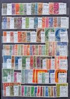 Nyugat-Berlin tétel 2 db közepes berakóban: 112 sor, 169 bélyeg, 3 blokk, 1 kisív (Mi EUR 1405,30)