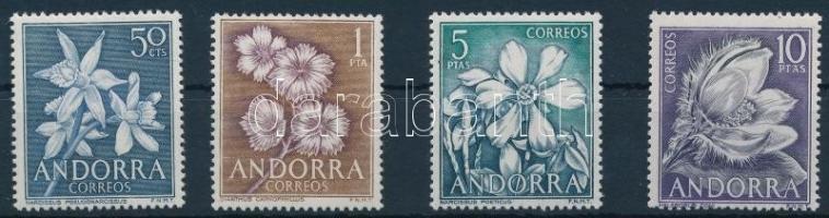 1966 Virágok sor, Flowers set Mi 67-70