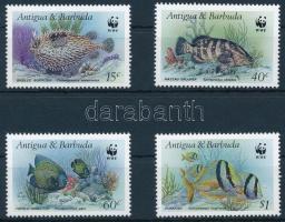 1987 WWF Halak sor, WWF Fishes set Mi 1010-1013