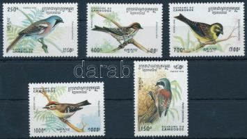 1994 Madarak sor, Birds set Mi 1476-1480