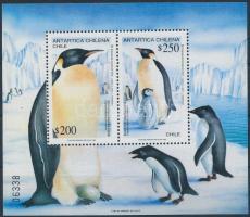 1992 Pingvinek blokk, Penguins block Mi 23