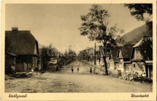 1940 Királymező, Uszty-Csorna, Ust-Chorna; utca / street