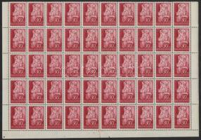 1942 Királyok 50 sor fél ívekben (60.000)