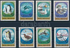 1980 Antarktisz kutatás - Állatok sor, Antarctic research - Animals set Mi 1336-1343