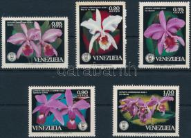 1971 Orchideák sor, Orchids set Mi 1879-1883