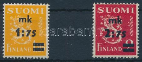 1940 Forgalmi sor, Definitive set Mi 228-229