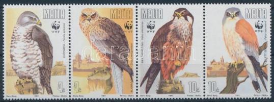 1991 WWF Baglyok sor, WWF Owls set Mi 864-867
