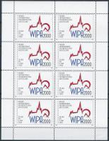 WIPA összeállítás: 1981/2000 elsőnapi levelezőlap és boríték, kisív berakólapon + 6 db magyar magánkiadású képeslap