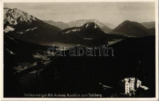 Alt-Aussee, Salzkammergut, Ausblick vom Salzberg / view from mountain peak