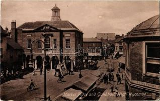 High Wycombe, Market Place and Guildhall, Hancock (EB)
