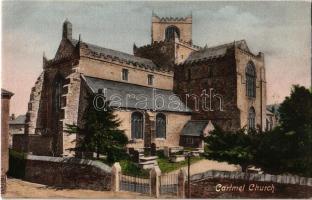 Cartmel, church