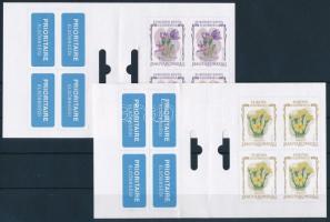 2007 2 különböző Virág bélyegfüzet