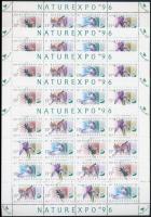 1996 NATUREXPO 5 db teljes ív (12.500)