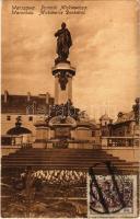 Warsaw, Warszawa, Warschau; Pomnik Mickiewicza / Mickiewicz Denkmal / monument. TCV card