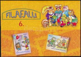 2008 Filafalu 6 klf bélyegszett