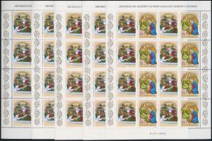 1995 Árpádházi és portugáliai Szt. Erzsébet 5 db teljes ív (10.000)