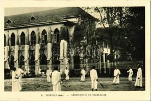 Cochin, Verapoly, Séminaristes en recreation / Archdiocese of Verapoly, seminarians, recreation
