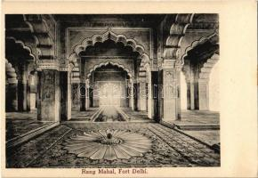 Delhi, Red Fort, Rang Mahal, interior