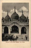 Delhi, Red Fort, Interior of the Moti Masjid