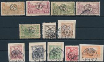Debrecen II. 1920 12 klf bélyeg Bodor vizsgálójellel (**16.000)