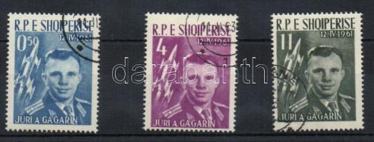 Gagarin, first space flight set (with a gum), Gagarin, első űrrepülés sor (gumival)