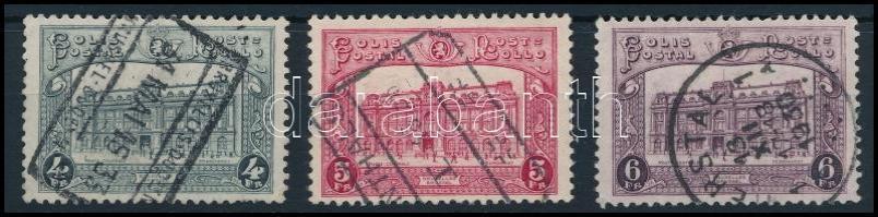 1929 Csomagbélyeg sor 3 értéke Mi 4-6