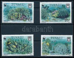 1992 WWF Korallok sor, WWF Corals set Mi 638-641