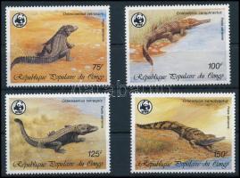 WWF Crocodiles set, WWF Krokodilok sor