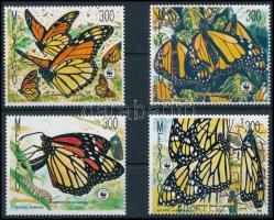 WWF Butterflies set, WWF Pillangók sor