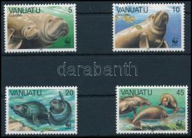 1988 WWF Dugong sor, WWF Dugong set Mi 782-785