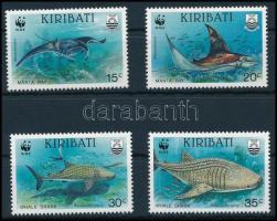 1991 WWF Halak sor, WWF Fishes set Mi 566-569