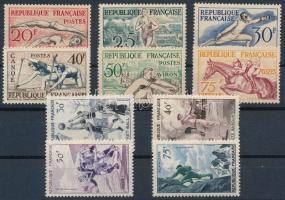 1953-1956 2 db Sport sor Mi 978-983, 1100-1103 (Mi EUR 87,-)