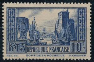 1929 Építészet Mi 241 IIIa (Mi EUR 140,-) (gumihiba / gum disturbance)