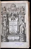 Bugnotius, Ludov. Gabriel: Archombrotus et theopompus sive argenidis secunda & tertia pars, Leiden, 1669. Hackins 1669, 6+ (14 ) + 624 + ( 15 ) p. Korabeli pergamenkötésben Egy két lap vízfoltos / some pages are wet stained
