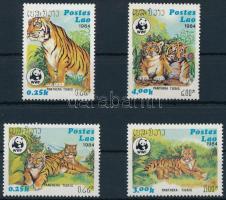 1984 WWF Tigris sor, WWF Tigers set Mi 706-709