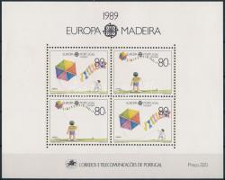 1989 Europa CEPT blokk, Europa CEPT block Mi 10