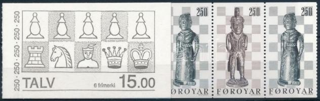 Chess stamp booklet, Sakk bélyegfüzet