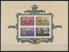 1947 Roosevelt vágott blokk (55.000) (ráncok / creases)