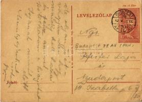 1942 Pfeifer György zsidó I/3. KMSZ (közérdekű munkaszolgálatos) levele édesapjának Pfeifer Lajosnak a munkatáborból / WWII Letter from a Jewish labor serviceman to his father from the labor camp. Judaica (EK)