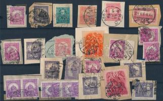 24 db perfin bélyeg