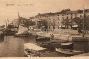 Crikvenica, Luka / port, boats