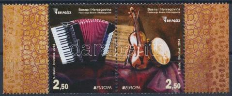 Europa CEPT Music margin pair, Europa CEPT Zene ívszéli pár