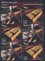 Europa CEPT Historical toy stamp-booklet sheet, Europa CEPT Történelmi játék bélyegfüzet lap