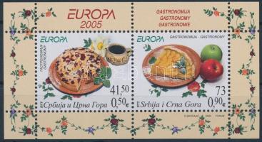 Europa CEPT Gastronomy block, Europa CEPT Gasztronómia blokk